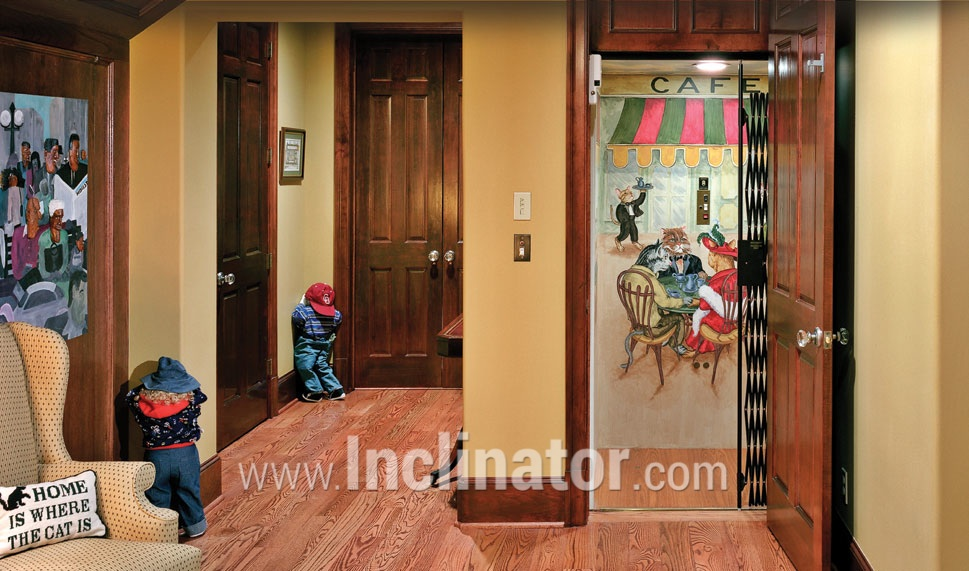 INCLINATOR Home Elevators