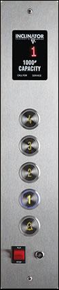 flush Cab Operating Panels
