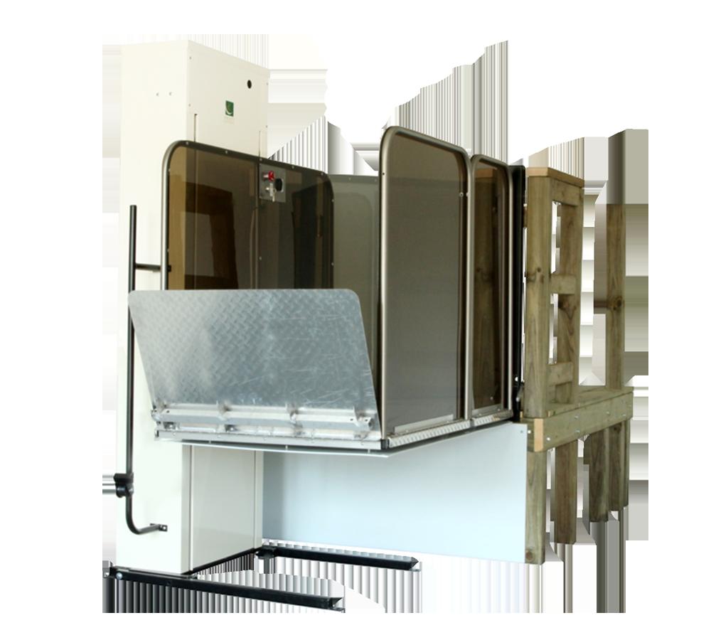 Premium Vertical Platform Lift - Wheelchair Lift   Inclinator